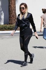 KHLOE KARDASIAN Out on Fifth Avenue in Los Angeles 05/19/2017