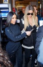 KIM and KHLOE KARDASHIAN at Joe