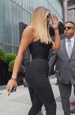 KIM and KHLOE KARDASHIAN Leaves Her Hotel in New York 05/15/2017