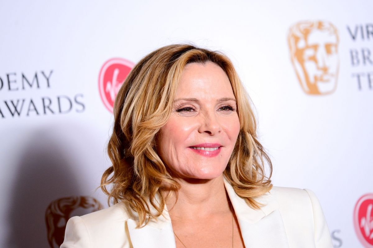 KIM CATTRALL at 2017 British Academy Television Awards in ... Kim Cattrall