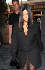 KIM KARDASHIAN and Jonathan Cheban Out in Hollywood 05/03/2017