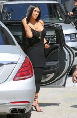 KIM KARDASHIAN Arrives at a Baby Shower in Los Angeles 05/11/2017