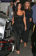 KIM KARDASHIAN Arrives at Watch What Happens Live in Los Angeles 05/21/2017