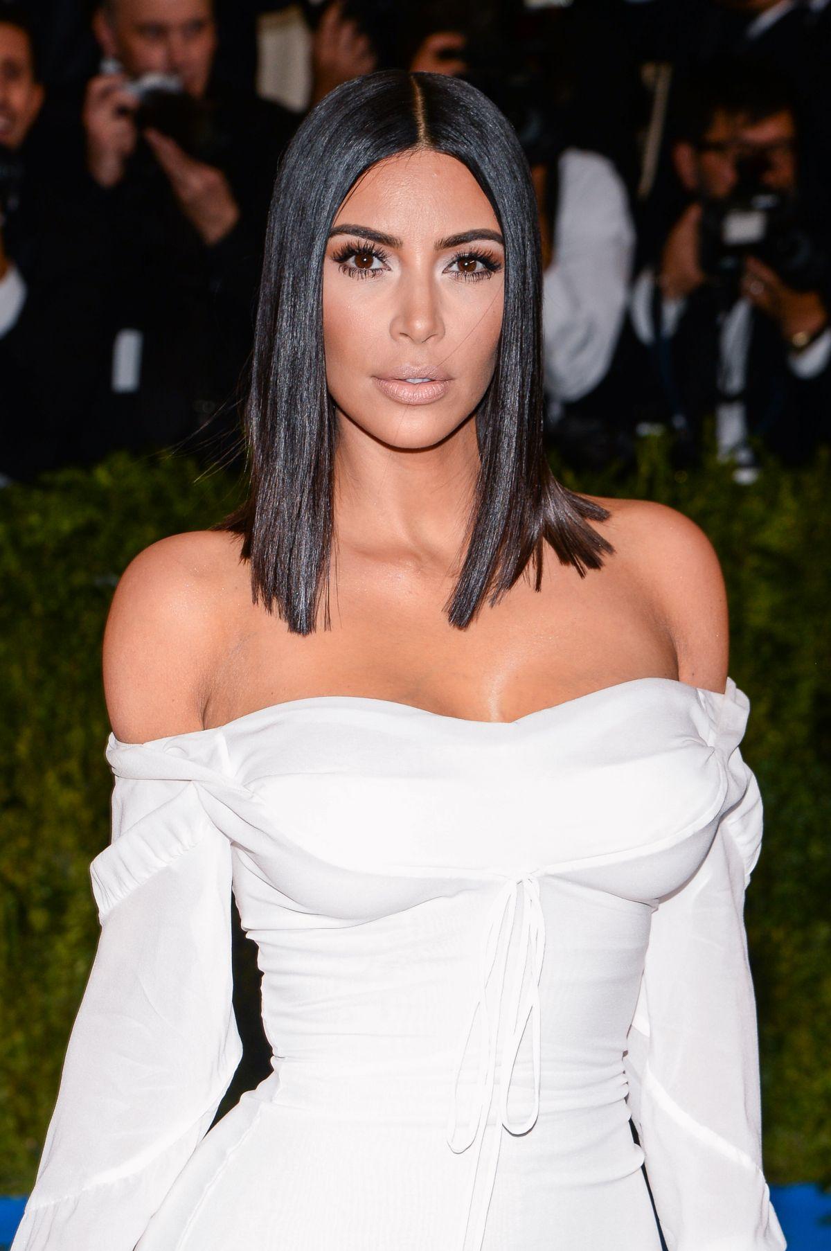 KIM KARDASHIAN at 2017 MET Gala in New York 05/01/2017 ... Kim Kardashian
