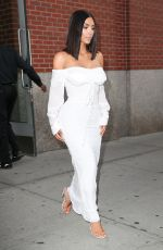 KIM KARDASHIAN on Her Way to MET Gala in New York 05/01/2017