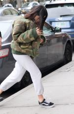 KIM KARDASHIAN Running in Her Apartment in New York 05/01/2017