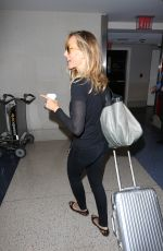KIM RAVER at LAX Airport in Los Angeles 05/03/2017