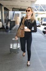 KIM RAVER at Los Angeles International Airport 05/03/2017