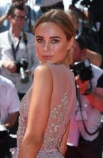 KIMBERLEY GARNER at How to Talk to Girls at Parties Premiere at 70th Annual Cannes Film Festival 05/21/2017
