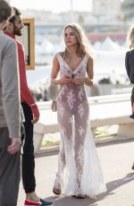 KIMBERLEY GARNER Out and About in Cannes 05/22/2017