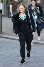 KIMBERLY WYATT Out in Manchester 05/04/2017