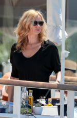 KIRSTEN DUNST at Hotel Du Cap Eden Roc in Antibes 05/20/2017
