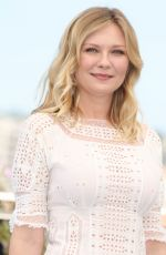 KIRSTEN DUNST at The Beguiled Photocall at 2017 Cannes Film Festival 05/24/2017