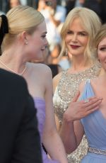 KIRSTEN DUNST at The Beguiled Premiere at 70th Annual Cannes Film Festival 05/24/2017