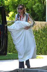 KIRSTEN DUNST Leaves Her Home in Los Angeles 05/21/2017
