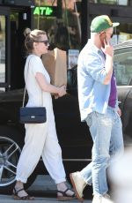 KIRSTEN DUNST Out in Los Angeles 04/30/2017