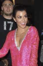KOURTNEY KARDASHIAN at Gotha Nightclub in Cannes 05/24/2017