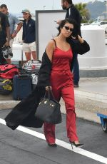 KOURTNEY KARDASHIAN Leaves Eden Roc Hotel in Antibes 05/26/2017
