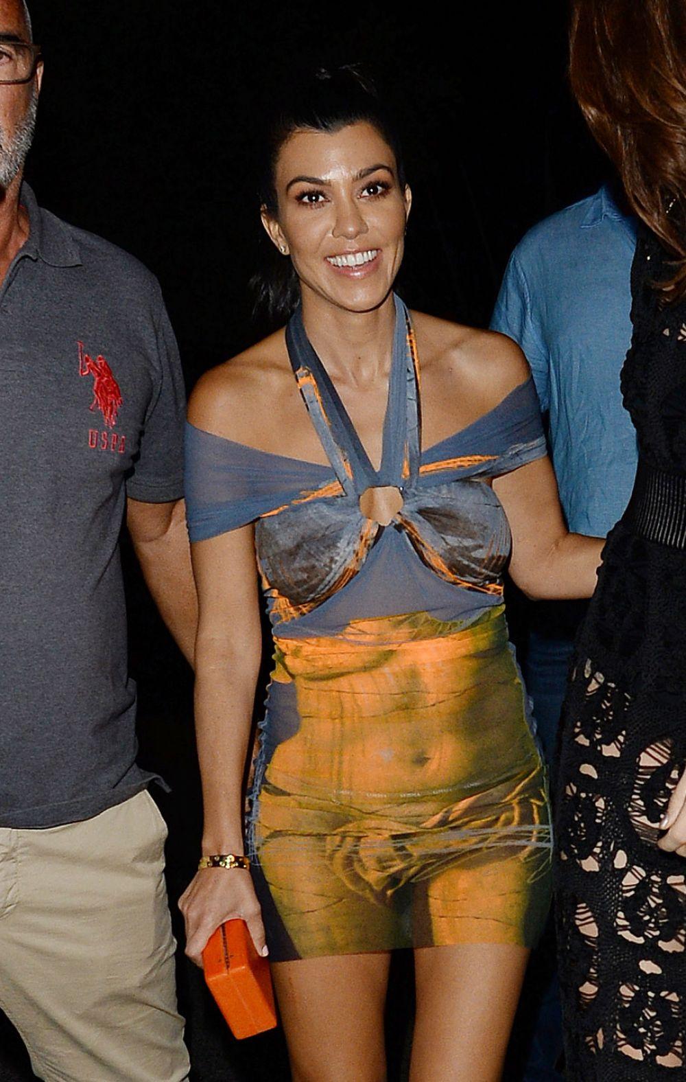 KOURTNEY KARDASHIAN Leaves Gotha Nightclub in Cannes 05/22/2017
