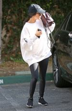 KOURTNEY KARDASHIAN Out and About in Calabasas 05/09/2017