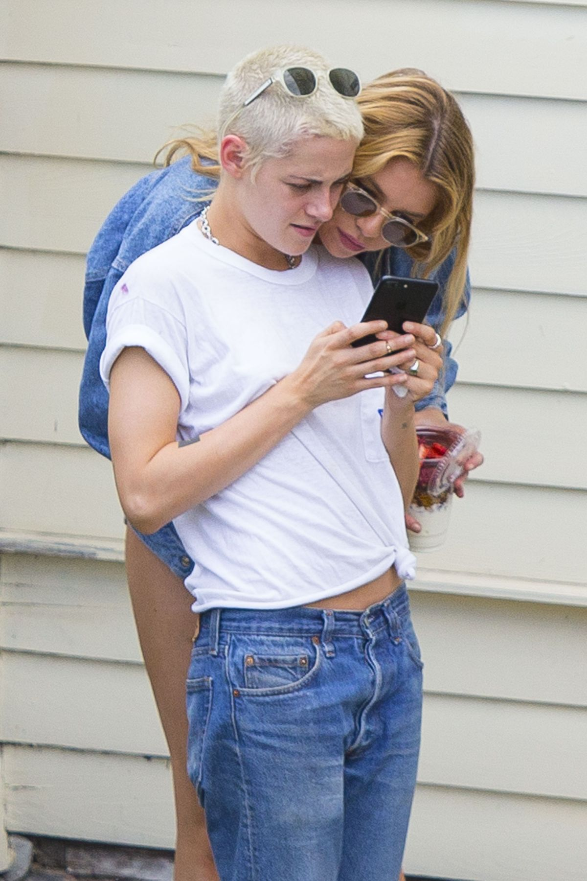 KRISTEN STEART and STELLA MAXWELL Out in New Orleans 05/29/2017