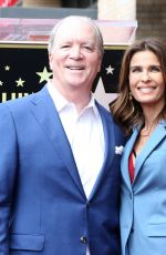 KRISTIAN ALFONSO at Ken Corday Walk of Fame Ceremony in Hollywood 05/15/2017