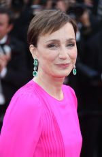 KRISTIN SCOTT THOMAS at The Killing of a Sacred Deer Premiere at 70th Annual Cannes Film Festival 05/22/2017