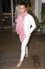 KYLE RICHARDS Leaves Vibrato Restaurant in Los Angeles 05/30/2017