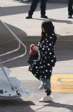 KYLIE JENNER Boarding at a Private Jet in Cusco 05/11/2017