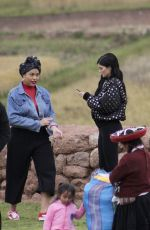 KYLIE JENNER Out and About in Peru 05/10/2017