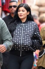 KYLIE JENNER Out in Los Angeles 05/102/2017