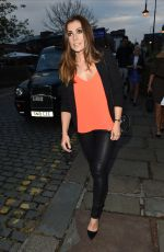 KYM MARSH at Bar Ca Bar Relaunch Party in Manchester 05/12/2017