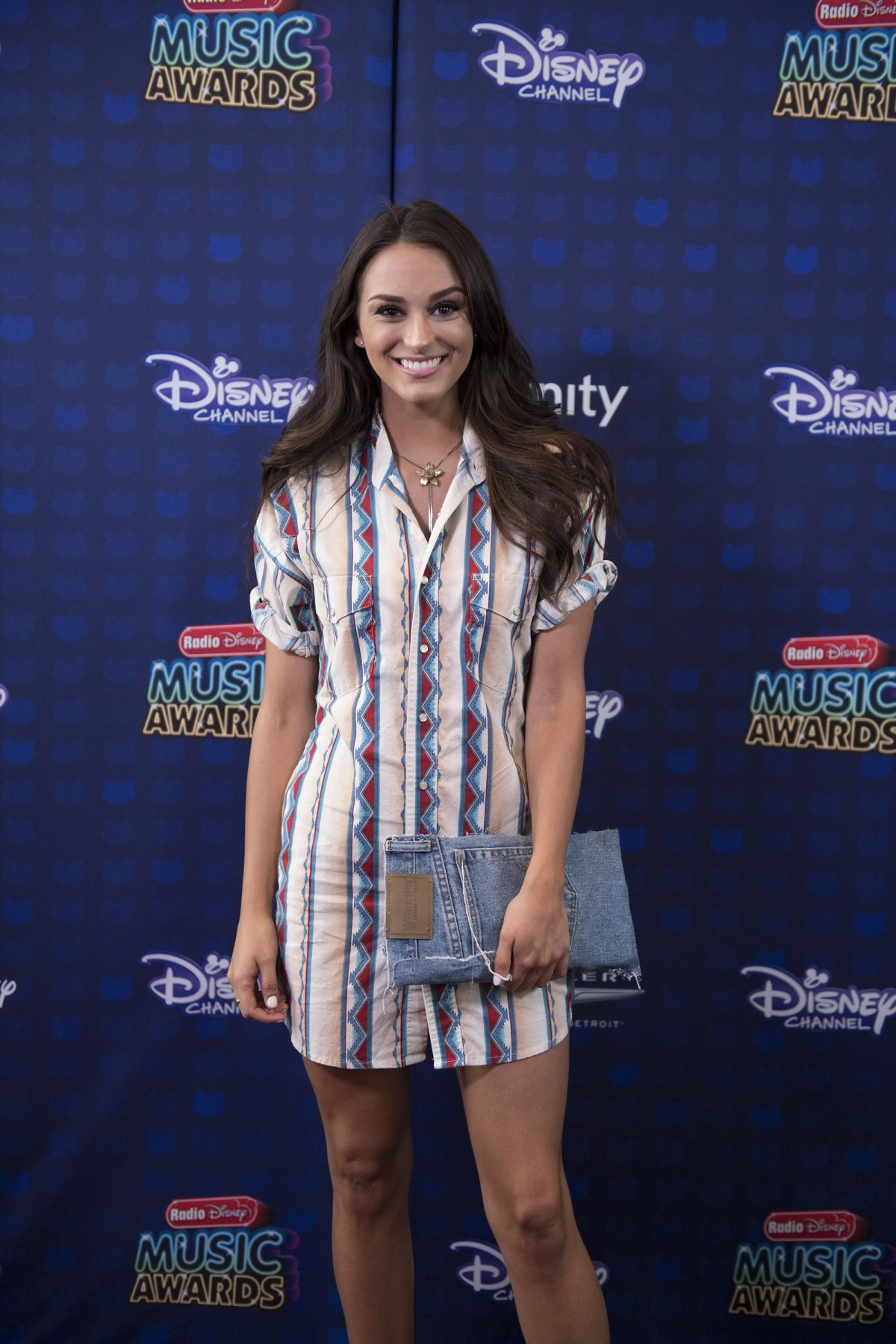 LACY CAVALIER at 2017 Radio Disney Music Awards in Los Angeles 04/29/2017