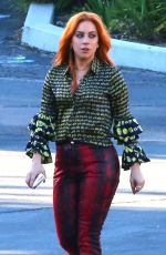 LADY GAGA on the Set of Star Is Born in Los Angeles 05/22/2017