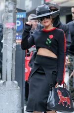 LADY GAGA Out and About in New York 05/14/2017