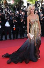LADY VICTORIA HERVEY at Okja Premiere at 70th Annual Cannes Film Festival 05/19/2017