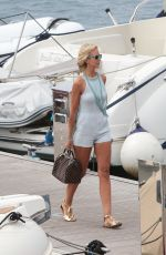 LADY VICTORIA HERVEY Out in Cannes 05/18/2017