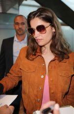 LAETITIA CASTA Arrives at Nice Airport 05/21/2017