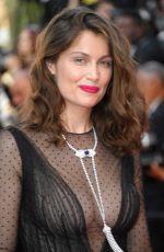 LAETITIA CASTA at Anniversary Soiree at 70th Annual Cannes Film Festival 05/23/2017