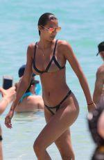 LAIS RIBEIRO in Bikini on the Beach in Miami 05/27/2017