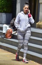 LALA ANTHONY Out and About in New York 05/15/2017