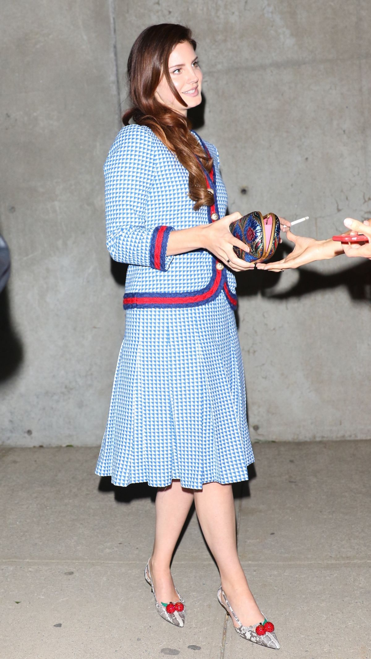 53cdb4721 LANA DEL REY at Gucci Bloom Fragrance Launch Party in New York 05/02/2017