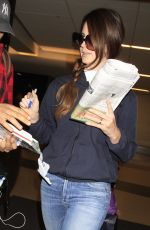 LANA DEL REY at LAX Airport in Los Angeles 05/04/2017