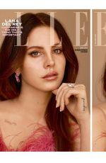 LANA DEL REY for Elle Magazine, UK June 2017