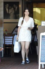 LANA DEL REY Leaves Mauro Cafe in West Hollywood 05/23/2017
