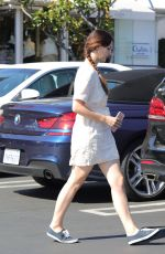 LANA DEL REY Out and About in West Hollywood 05/23/2017