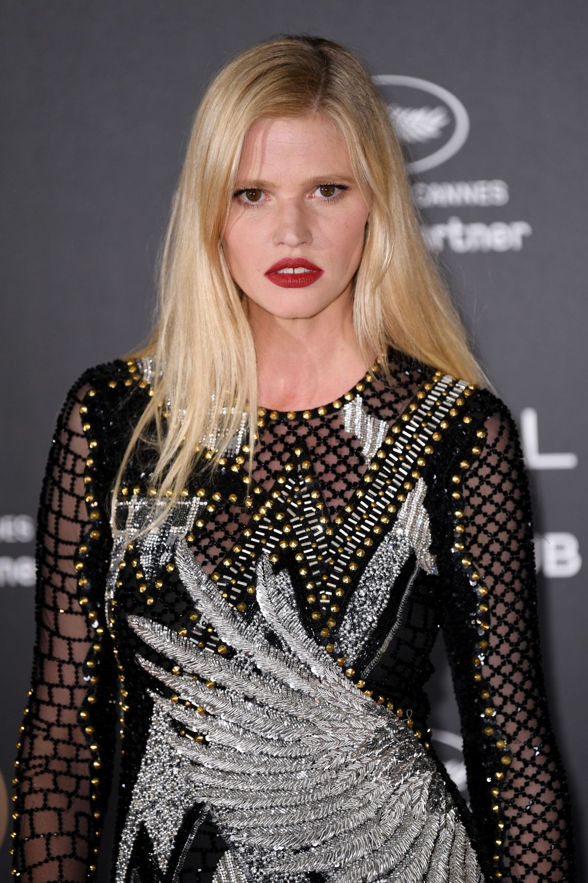 LARA STONE at L'Oreal 20th Anniversary Party at Cannes Film Festival 05/24/2017