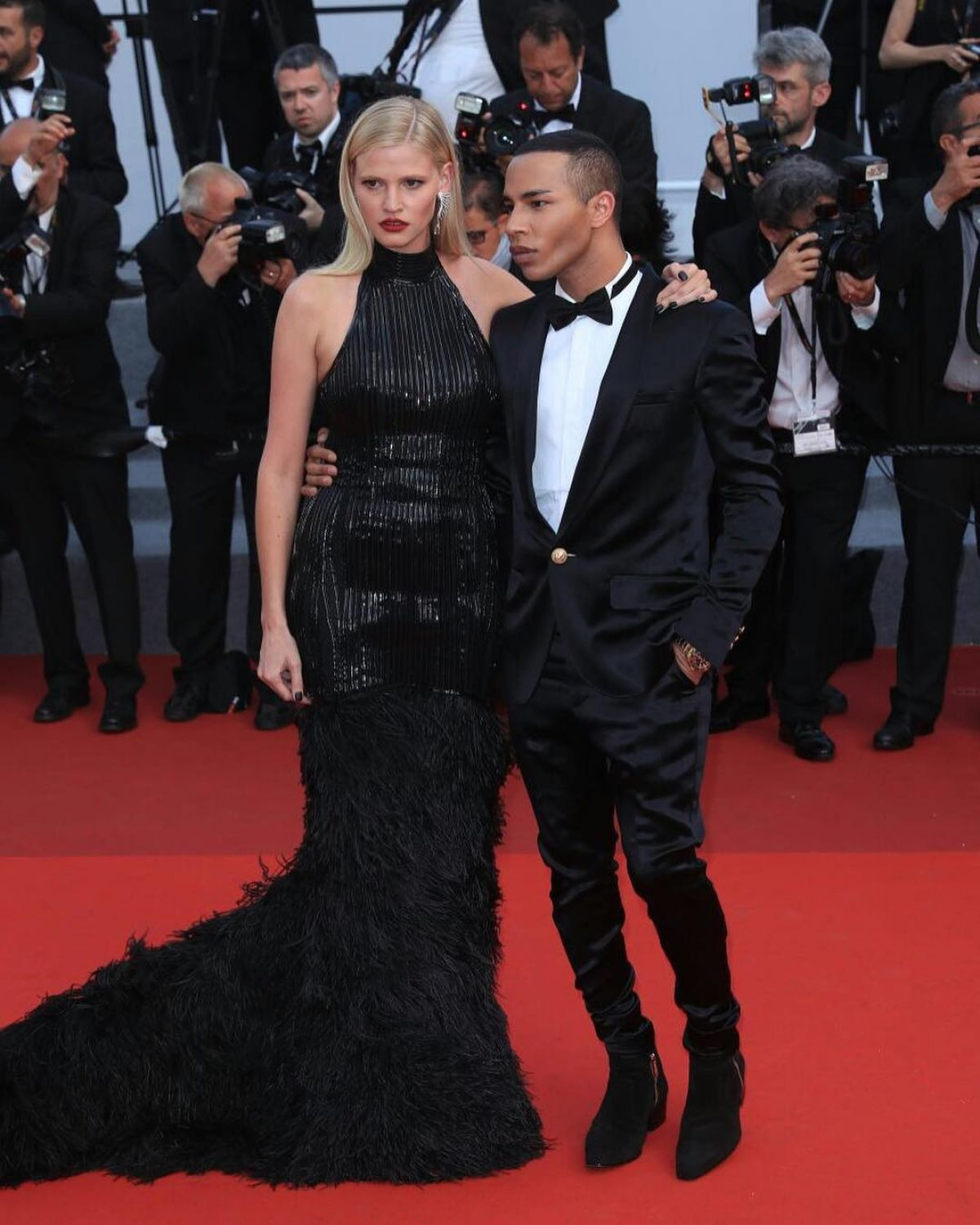 LARA STONE at The Beguiled Premiere at 70th Annual Cannes Film Festival 05/24/2017