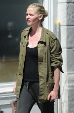 LARA STONE Out for Lunch in London 05/22/2017