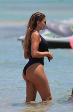LARSA PIPPEN in Bikini at a Beach in Miami 05/10/2017